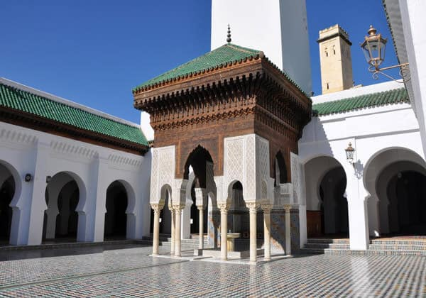 Karaouyine Mosque in Fes