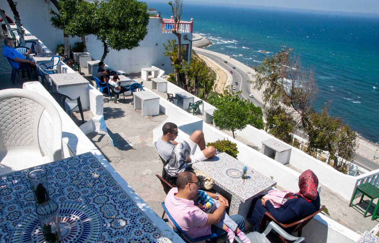 Hafa Cafe in Tangier