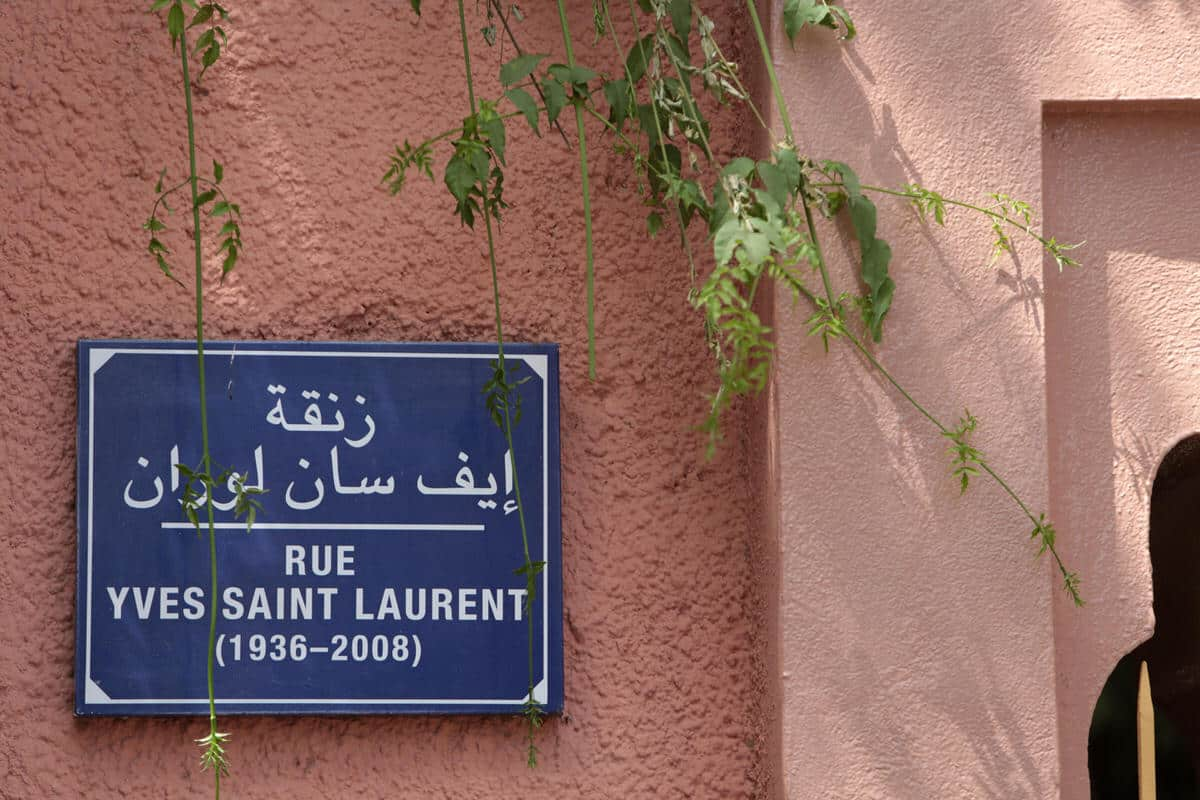 Yves Saint Laurent Museum in Marrakech