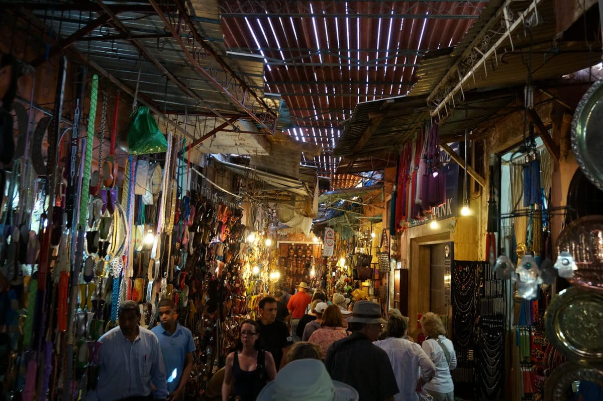 The Souks of Marrakech
