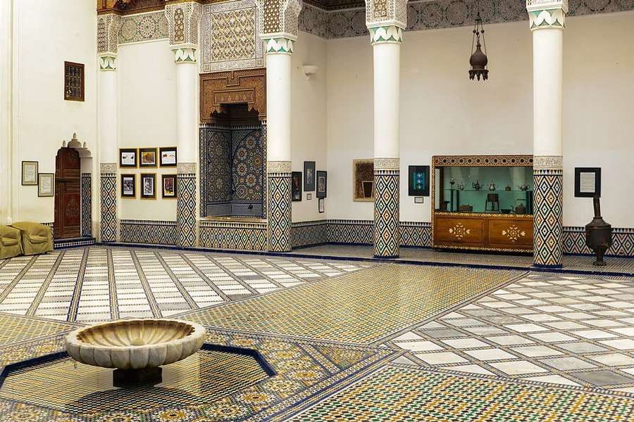 Dar Si Said Museum in Marrakech