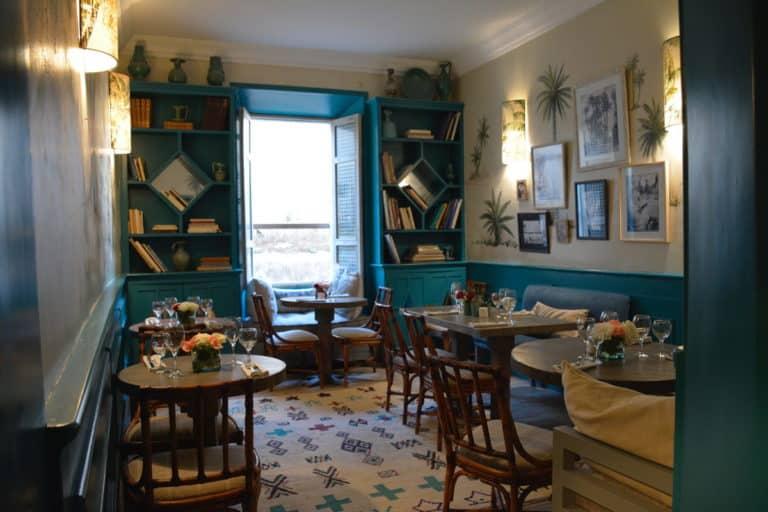 A restaurant in Essaouira