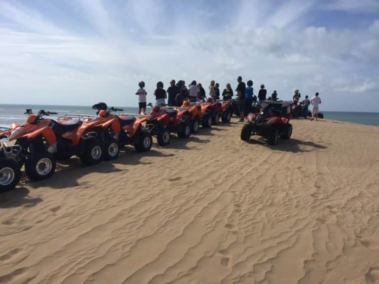 Quad session near Essaouira